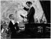 Alexander Scriabin /N(1872-1915). Russian Composer And Pianist. With Russian Orchestra Conductor, Serge Koussevitzky (1874-1951). Oil, 1910, By Robert Sterl. Poster Print by Granger Collection - Item # VARGRC0046436
