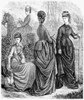 Women'S Fashion, 1873. /Nriding Habit. Wood Engraving, American, 1873. Poster Print by Granger Collection - Item # VARGRC0014654