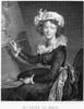 Elisabeth Vigee-Lebrun /N(1755-1842). Marie Louise Elisabeth Vig_E-Lebrun. French Painter. Copper Engraving, French, 1804, After Vig_E-Lebrun'S Self-Portrait Of 1790. Poster Print by Granger Collection - Item # VARGRC0000828