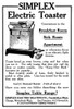 Ad: Toaster, 1911. /Namerican Magazine Advertisement For Simplex Electric Toasters, 1911. Poster Print by Granger Collection - Item # VARGRC0323690