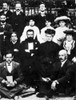 Theodor Herzl (1860-1904). /Naustrian Journalist And Founder Of Zionism. Herzl, Center, Between His Mother And Israel Zangwill At The Sixth Zionist Congress At Basel, August 1903. Poster Print by Granger Collection - Item # VARGRC0012154