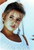 Olivia D'abo in Floral Tank top Close Up Portrait Photo Print - Item # VARCEL687912