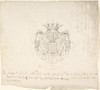 Design for coat of arms Poster Print by Anonymous  18th century (18 x 24) - Item # MET383351