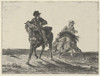 "Steenie or Redgauntlet Pursued by a Goblin on Horseback Poster Print by Eugène Delacroix (French  Charenton-Saint-Maurice 1798  ""1863 Paris) (18 x 24) - Item # MET336634"