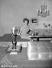 Kim Novak in her dining room Photo Print - Item # VARCEL686603