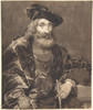 "Half-length Portrait of a Bearded Man in Historical Dress Poster Print by Richard Parkes Bonington (British  Arnold  Nottinghamshire 1802  ""1828 London) (18 x 24) - Item # MET377425"