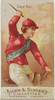 Dwyer Brothers  from the Racing Colors of the World series (N22b) for Allen & Ginter Cigarettes Poster Print (18 x 24) - Item # MET409489