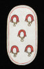 5 of Collars  from The Cloisters Playing Cards Poster Print (18 x 24) - Item # MET475560