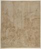 "Emperor greeted by a warrior Poster Print by School of Marcantonio Raimondi (Italian  Argini ca. 1480  ""before 1534 Bologna ) (18 x 24) - Item # MET340576"