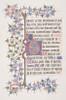 "Illuminated Leaf with Initial E (recto); Vine Border (verso) Poster Print by Freeman Gage Delamotte (British  Sandhurst 1813/14  ""1862 London) (18 x 24) - Item # MET363562"