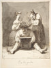 "They are Polishing Him Up (Y se las pulen) Poster Print by Leonardo Alenza y Nieto (Spanish  Madrid 1807  ""1845 Madrid) (18 x 24) - Item # MET335162"