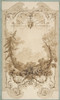 Design for a Decorative Wall Panel with Hunting Motif  Pless Chateau  Silesia Poster Print by Jules-Edmond-Charles Lachaise (French  died 1897) (18 x 24) - Item # MET384783