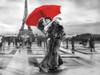 B+W French Kiss Poster Print by Michael Tarin - Item # VARPDX82673