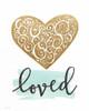 Love Heart Poster Print by Jo Moulton - Item # VARPDXJM15464