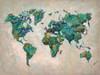 Wonderful World MAP Poster Print by James Zheng - Item # VARPDX939ZHE1041