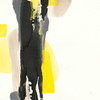 Black and Yellow II Poster Print by Chris Paschke - Item # VARPDX32534