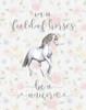 Be a Unicorn Floral Poster Print by Tara Moss - Item # VARPDXTA1904