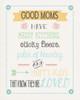Good Moms Poster Print by Jo Moulton - Item # VARPDXJM15526