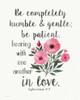 Patient Humble Kind Poster Print by Jo Moulton - Item # VARPDXJM15466
