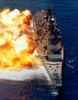 Battleship USS Iowa firing its Mark 7 16-inch/50-caliber guns Poster Print by Stocktrek Images - Item # VARPSTSTK101615M