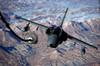 An Italian AMX approaches a KC-10A Extender to refuel over Afghanistan Poster Print by Stocktrek Images - Item # VARPSTSTK103389M
