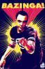 Big Bang Theory - Sheldon Cooper Bazinga Poster Print - Item # VARTIARP1533