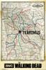 Walking Dead - Terminus Map Poster Print - Item # VARTIARP13739