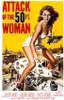 Attack of the 50 ft Woman Poster Print - Item # VARTIARP7302