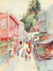 Constantinople 1906 Street scene in Top Khaneh Poster Print by  Warwick Goble - Item # VARPPHPDP81614