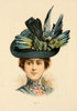 Fine Millinery 1899 Hat 2 Poster Print by Unknown - Item # VARPPHPDA60262