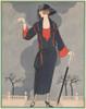 Gazette du Bon Ton 1922 L'Averse Intempestive Poster Print by  George Barbier - Item # VARPPHPDP87187