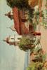 California 1914 The Cemetery  Santa Barbara Mission Poster Print by  Harold Sutton Palmer - Item # VARPPHPDA66747