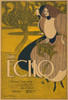 The Echo 1895 Cover Poster Print by  William H. Bradley - Item # VARPPHPDP82900