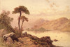 Picturesque Scottish Scenery 1875 Loch Leven Castle Poster Print by  Thomas C.L. Rowbotham - Item # VARPPHPDA71430