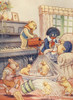 Little Pickles 1928 Golliwog & Ducks Poster Print by  Jaques Browne - Item # VARPPHPDP80632