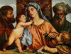 The Madonna of the cherries Titian 1908 Poster Print by Titian - Item # VARPPHPDA70392