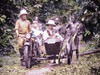 Close-up of Missionaries and Friends in Cameroun, Africa - 1920s Magic Lantern Slide Poster Print by Sunny Brook - Item # VARBLL0587396415