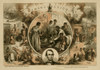 Thomas Nast's celebration of the emancipation of Southern slaves with the end of the Civil War. Nast envisions a somewhat optimistic picture of the future of free blacks in the United States. Poster Print - Item # VARBLL0587630442