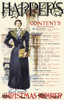 A woman stands holding a magazine. Poster Print by  Edward Penfield - Item # VARBLL0587415088