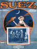 Vintage sheet music for the Oriental Fox-trot romance, Suez. Poster Print by Wohlman - Item # VARBLL0587431776