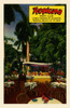 """Postcard from the Tropicana, """"Cuba's Garden of Glamour, Tropical Beauty at its Best""""  The card shows the outdoor garden entertainment area. Poster Print by Curt Teich & Company - Item # VARBLL0587382058"""