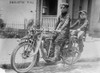 Two Children on a Motorcycle Poster Print - Item # VARBLL058748805L