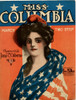 Lady Liberty in drape of old Glory and French cap Poster Print - Item # VARBLL058753835L