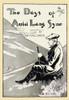 A man sits on a hillside looking down. Poster Print by  L. F. Hurd - Item # VARBLL0587416564