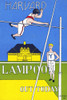A Harvard athlete waves to a Yale athlete while completing a high jump. Poster Print by  Alfred K Moe - Item # VARBLL0587413034