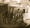 Washington, D.C. Group of Sanitary Commission workers at the entrance of the Home Lodge Poster Print - Item # VARBLL058752173L