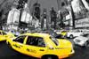 Rush Hour Times Square - Yello Poster Print (36 x 24) - Item # PYRPP31721