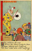 A Day At The Fair. The Clown Poster Print By Mary Evans Picture Library/Peter & Dawn Cope Collection - Item # VARMEL10804465