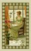 Girl Sends A Letter To Her Love Poster Print By Mary Evans Picture Library/Peter & Dawn Cope Collection - Item # VARMEL11045325