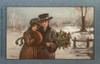 A Couple In A Snowy Landscape Poster Print By Mary Evans/Peter & Dawn Cope Collection - Item # VARMEL10406161